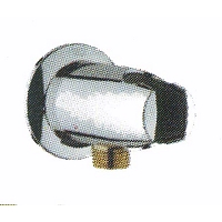 COUDE + SUPPORT DOUCHETTE GROHE MOVARIO CHROME (ARRET)