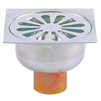 SIPHON SOL INOX VALENTIN 100x100 S.V. A SOUDER CUIVRE D40