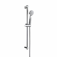 BARRE DE DOUCHE ROCA STELLA 3 JETS DN80 CHROME