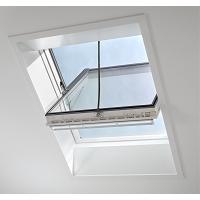 GGU INTEGRA SOLAIRE TOUT CONFORT SK06 (114x118) PVC BLANC